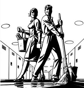H&J Cleaning crew